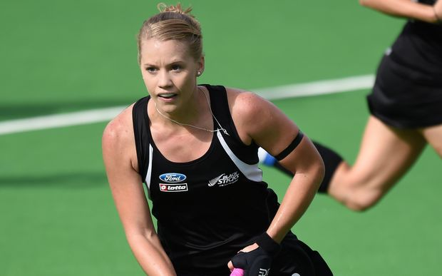Black Sticks striker Kirsten Pearce