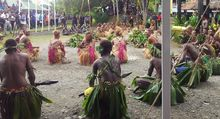 MSG Opening Ceremony in Honiara