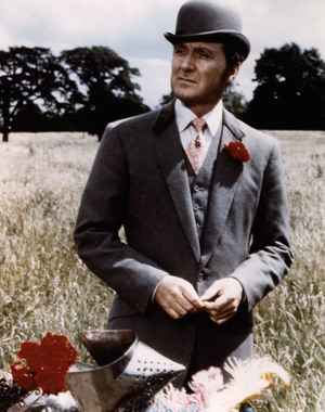 Patrick Macnee in the British television series The Avengers.
