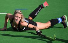 The Black Sticks' player Anita Punt in action.