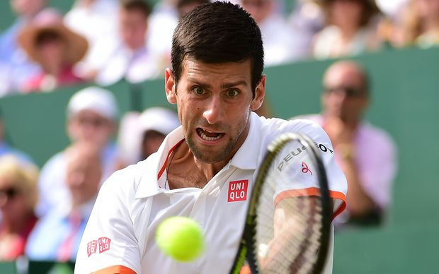 The men's tennis world number one Novak Djokovic.
