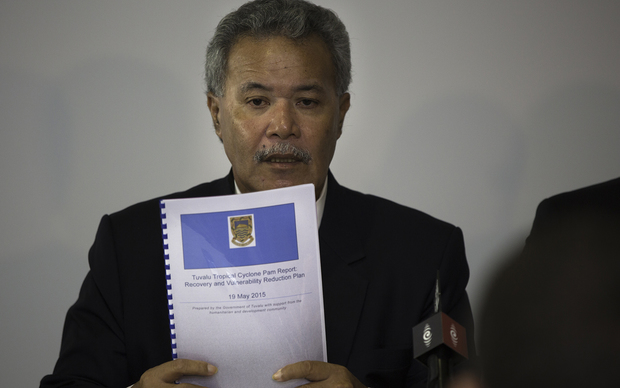 World Humanitarian Summit Pacific Consultation. Hon. Enele Sosene Sopoaga, Prime Minister of Tuvalu