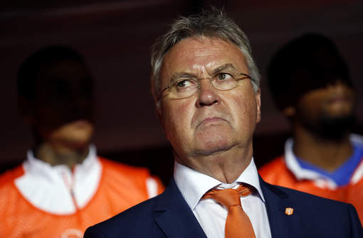 Guus Hiddink has resigned at coach of the Netherlands.