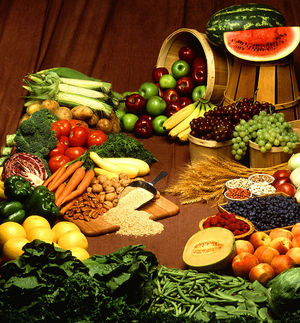 Diets such as the Mediterranean and Paleo include lots of fresh fruit and vegetables.