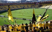 Westpac Stadium improved it's 'atmosphere rating' in the A-League player survey.