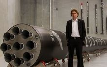 Rocket Lab chief executive Peter Beck.