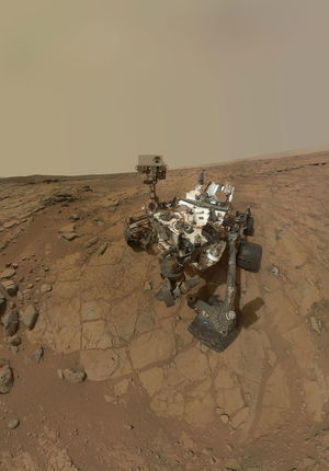 Evidence collected by the Mars Curiosity rover shows that salty water may form in  Martian soil on cold nights.