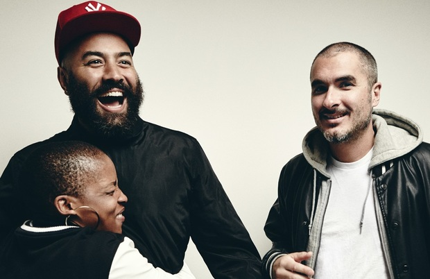 Beats 1's Julie Adenuga, Ebro Darden and Zane Lowe