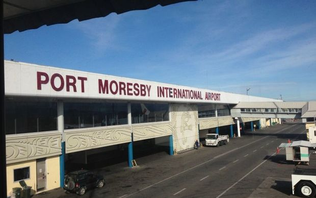 International airport in Port Moresby
