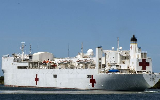 The United States Hospital Ship, USNS Mercy, was recently in Bougainville