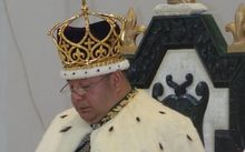 King of Tonga, Tupou VI, has been formally crowned.