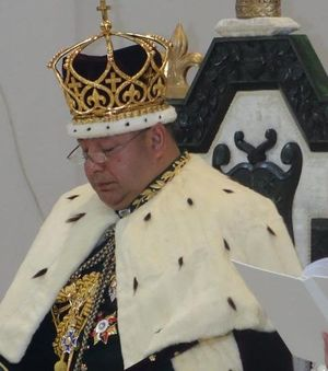 The King of Tonga Tupou VI has been formally crowned