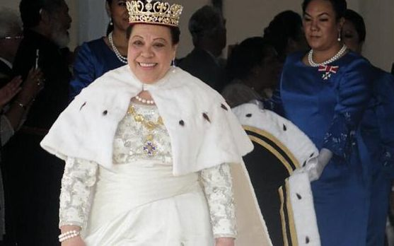 Formally crowned Queen Nanasipau'u of Tonga.