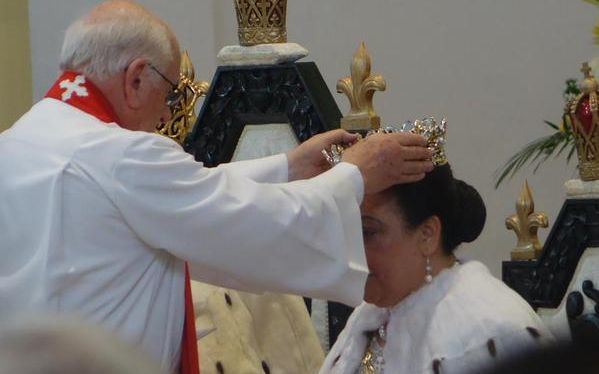 Queen Nanasipau'u is formally crowned in Nuku'alofa on Saturday morning at the coronation of King Tupou VI