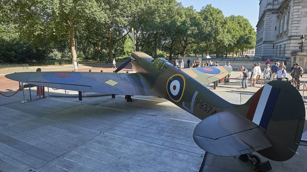 The spitfire will be auctioned in London on 9 July 2015 at Christies.