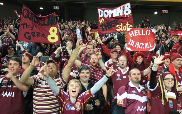Queensland League fans