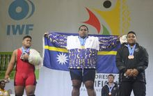 Itte Detenamo won his fourth consecutive Pacific Games overall 105kg+ gold medal in Port Moresby on Wednesday.