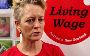 Convenor of the Living Wage Movement, Annie Newman.