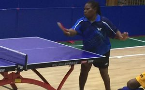 Vanuatu's Mary Ramel narrowly missing out on gold in the women's table tennis Para singles final at the Pacific Games.