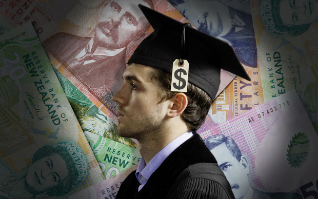 Graduate backed by money