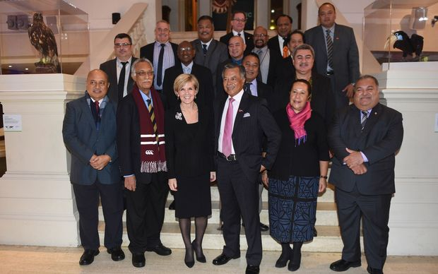 Pacific Islands Forum Foreign Ministers Meeting in Sydney