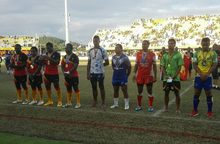 The team of the Pacific Games rugby league tournament was dominated by Papua New Guinea players.