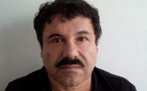 An image released by the Attorney General of Mexico (PGR) of Mexican drug trafficker Joaquin Guzman.