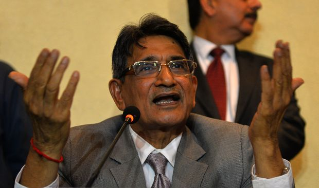 Rajendra Mal Lodha of the Supreme Court-appointed panel that suspended two Indian Premier League franchises.
