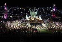 Pacific games ceremony in PNG