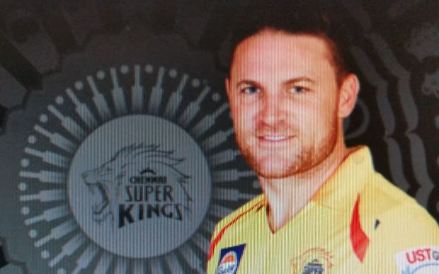 Brendon McCullum is owed money by the Chennai Super Kings.