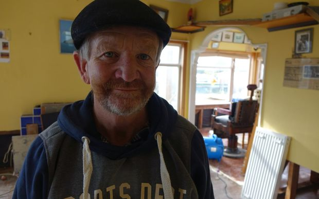 Anzac Parade resident Clayton Bunker doesn't expect to move back home for four months.