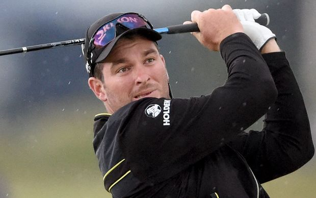 New Zealand's Ryan Fox during the second round of the British Open, 2015.