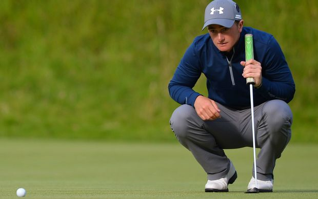 Ireland's amateur golfer Paul Dunne.