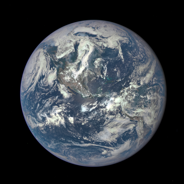 NASA's newest image of the Earth.