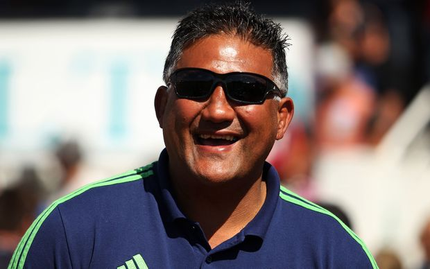 The Highlanders Super Rugby coach Jamie Joseph.