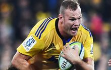 Hurricanes lock James Broadhurst.