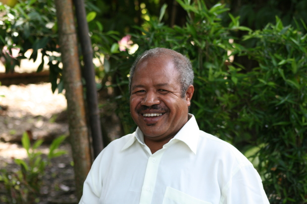 Powes Parkop, the governor of Papua New Guinea's National Capital District.