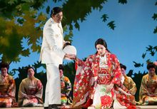 New Zealand Opera's production of Madame Butterfly.