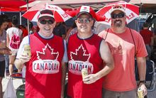 Canadian rugby fans