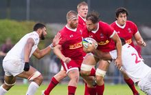 Tonga came from behind to beat Canada 28-18 in the Pacific Nations Cup.