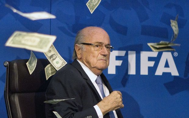 Putin says under-fire Blatter deserves Nobel Prize