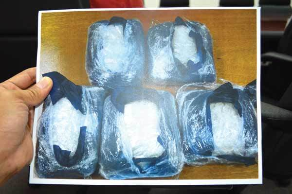 CNMI customs seizes methamphetamine