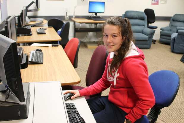 Physical Education student, Paige Aitcheson.