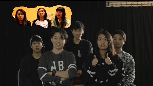 Auckland-based dance crew, Ace, talking about their rival dance group, Ad Infinitum