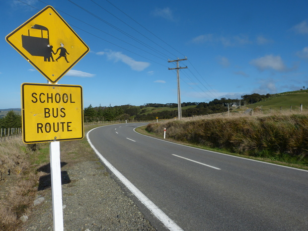 Winding roads contribute to the isolation of many rural schools.