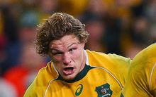 Wallabies flanker Michael Hooper, Rugby Championship, Australia v South Africa, Suncorp Stadium, Brisbane, Australia, July 18, 2015