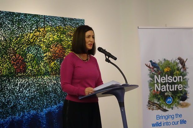Nelson Mayor Rachel Reese at the launch of Nelson Nature.