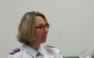 Salvation Army director of social policy Major Sue Hay