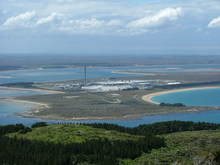 Tiwai Point aluminium smelter.