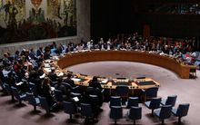 The UN Security Council meeting on 29 July 2015.